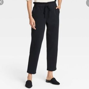 Who What Wear Tapered/High-Rise Sweatpants Size S